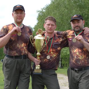 Our carp fishing team